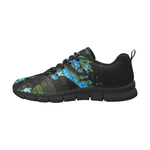 Graffiti The Man In Black Men's Breathable Running Shoes