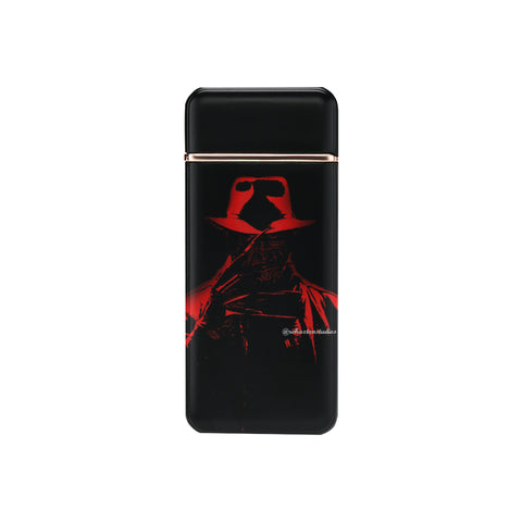 Comic Freddy USB Rechargeable Lighter