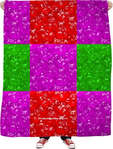 Gummy Bear Throw