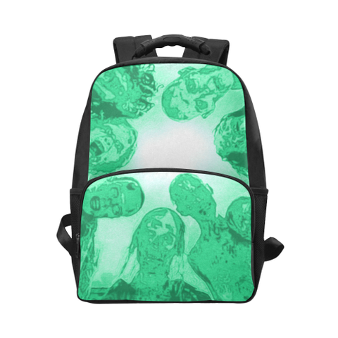 Zombies are Coming Unisex Laptop Backpack