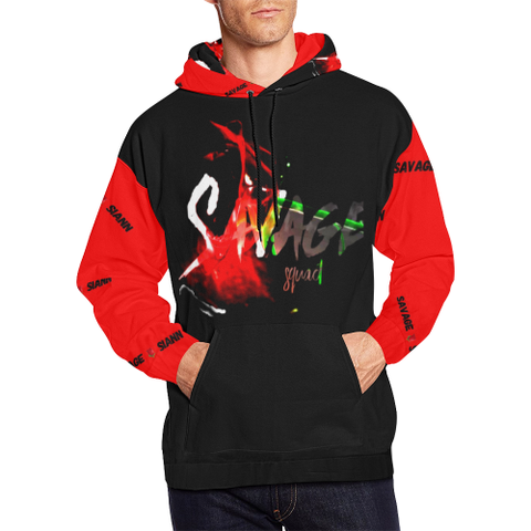 Savage Squad All Over Print Hoodie