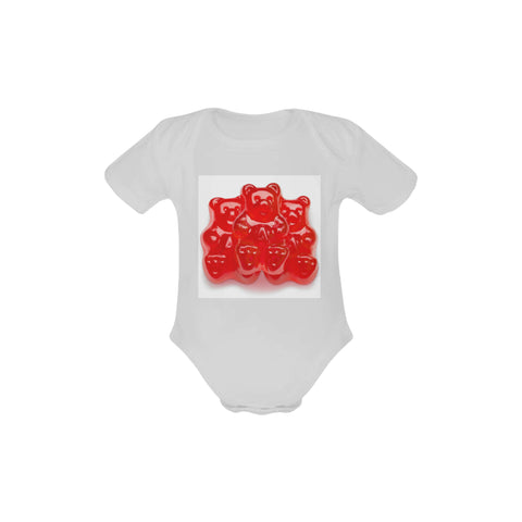 Gummy bear Organic Short Sleeve Onesie