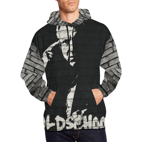Graffiti Bobby Hennan #oldschool All Over Print Hoodie
