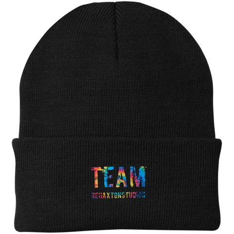 Team Rehaxtonstudios Port Authority Knit Cap