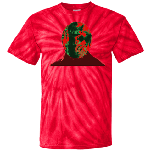 Camp Christmas 100% Cotton Tie Dye T-Shirt