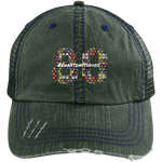 Graffiti Can Rehaxtonstudios Logo Distressed Unstructured Trucker Cap