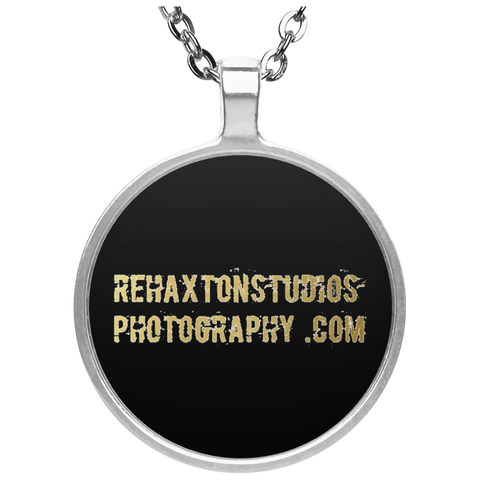 Rehaxtonstudios Photography Gold Circle Necklace