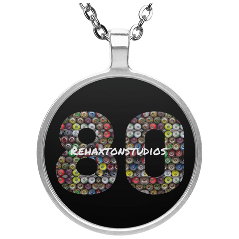 Graffiti Rehaxtonstudios Logo Circle Necklace