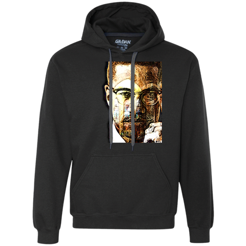 Malcolm X Gildan Heavyweight Pullover Fleece Sweatshirt