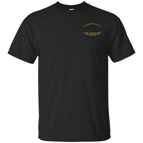 Black/Gold  Psk G200 Gildan Ultra Cotton T-Shirt