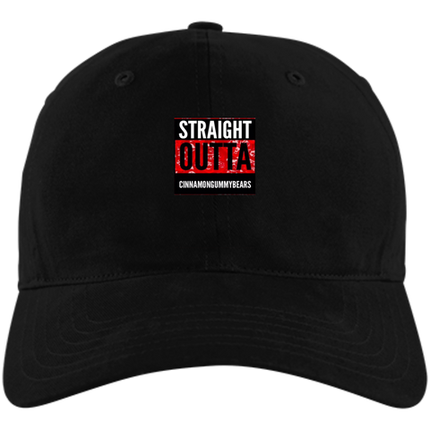 Straight Outta Cinnamon Bears  Adidas Unstructured Cresting Cap