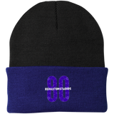 Barbed Wire logo Port Authority Knit Cap