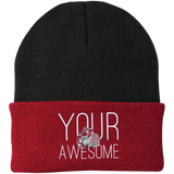 Your Awesome Port Authority Knit Cap