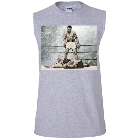 G.O.A.T Ali Gildan Men's Ultra Cotton Sleeveless T-Shirt