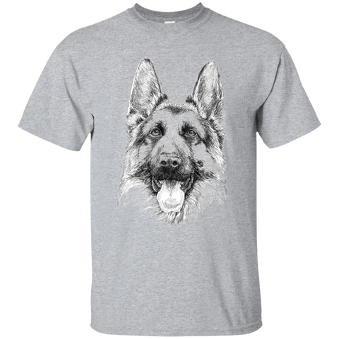 German Shepherd k-9 Gildan Ultra Cotton T-Shirt
