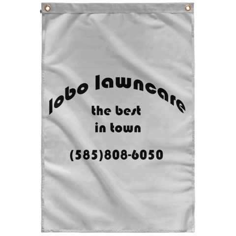 Lobo Sublimated Wall Flag