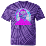 Michael Myers acid trip Youth Tie Dye T-Shirt