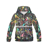 Rehaxtonstudios Graffiti Paint Splatter All Over Print Hoodie for Men