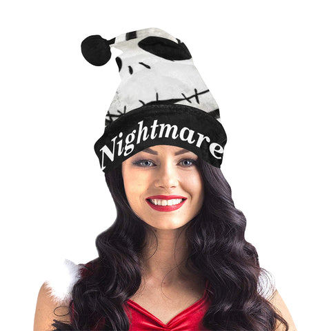 Nightmare Before Christmas Santa Hat
