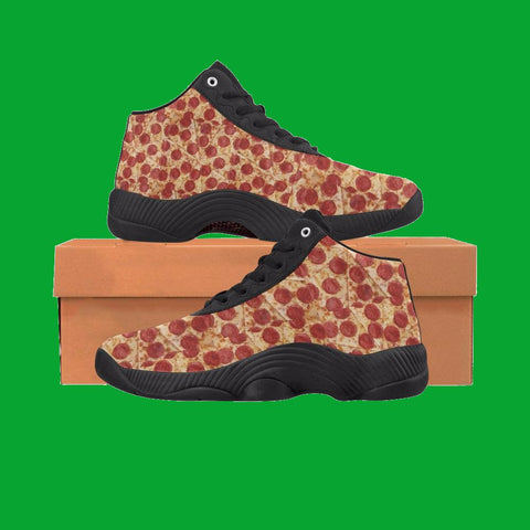 Pizza All Over  Basketball Shoes