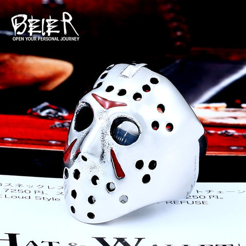 Jason Voorhees Mask Ring