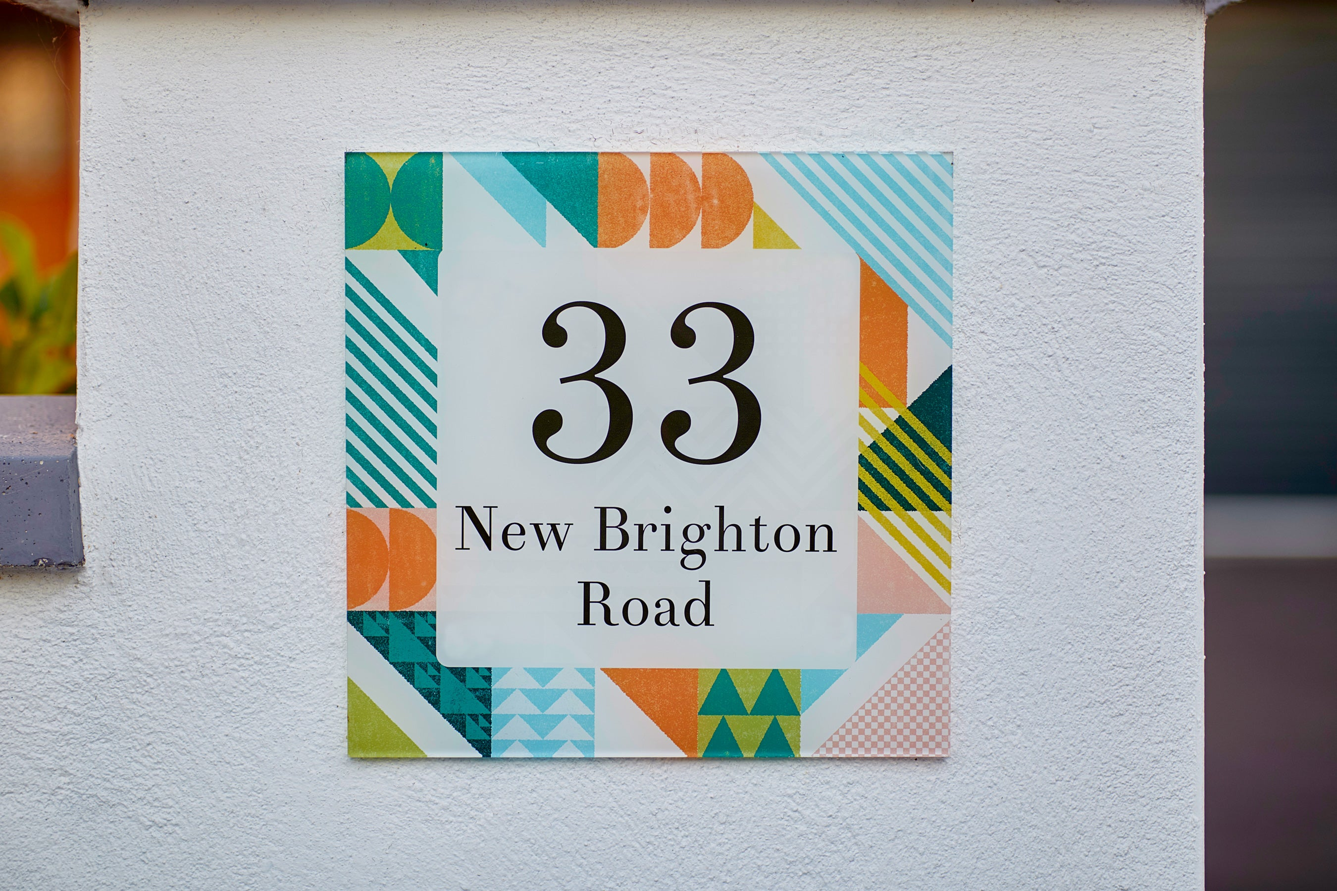 Scandi Boom Acrylic House Sign - Abodian Signs