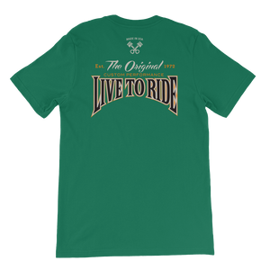 Short-Sleeve Unisex T-Shirt Vintage Live to Ride
