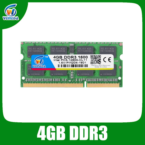 Brand New ram ddr3 4GB sodimm ddr3 1600 ram for Intel amd laptop 4gb ddr3 1333 240pin Lifetime Warranty