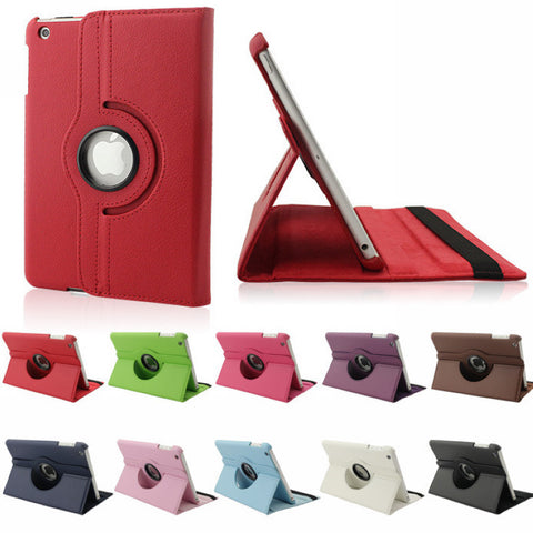 For Apple iPad Pro 10.5 2017 Released Flip Pu Leather Rotating Case Stand Smart Cover for iPad Pro 10.5""