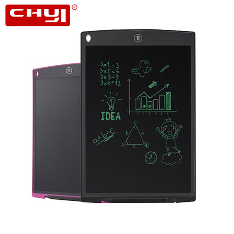 12 Inch LCD Writing Digital Tablet Paperless Writing Board Stylus Healthy Handwriting Board For Office Memo Children Painting