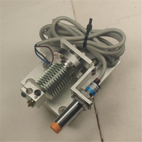 Reprap Prusa i3 v6 Bowden X-carriage mount hotend kit  V6 bowden extruder with Inductive Proximity Sensor 1.75/3mm Blurolls