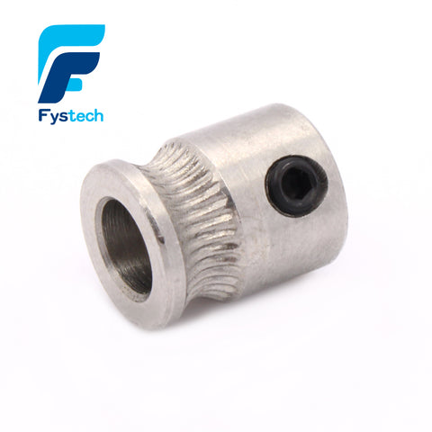 3D Printer accessory MK8 extruder Driver gear for 1.75/3.0mm Filament Extruder Pulley 5mm Shaft Wholesale