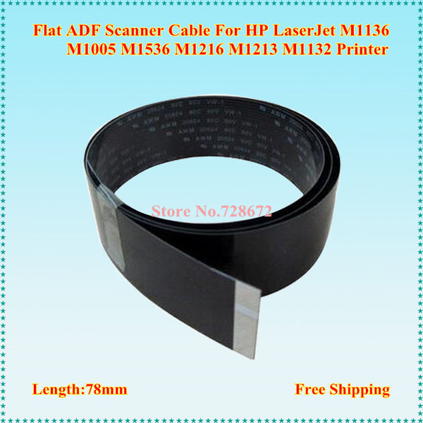 Free Shipping 6PCS/LOT Scanner Flat Cable for HP M1136 M1005 M1536 M1216 M1213 M1132 Printer Scanner Cable