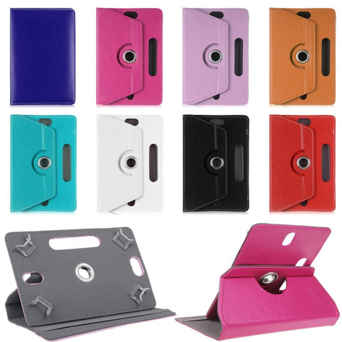 Histers Universal Cover for 10.1 Inch Tablets HP Pavilion x2 10 (x2 210) PU Leather Stand Case with Camera Hole