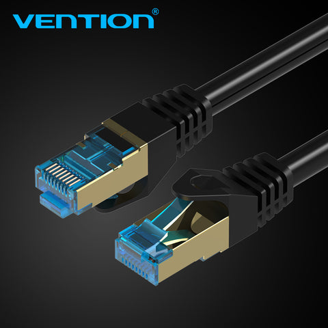 Vention Cat7 Ethernet Cable RJ45 Gigabit  Network Lan Cable rj45 Patch Cord 1m2m3m4m5m8m10m for PC Router Laptop Cable Ethernet