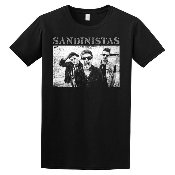 BAND PHOTO T-SHIRT BLACK