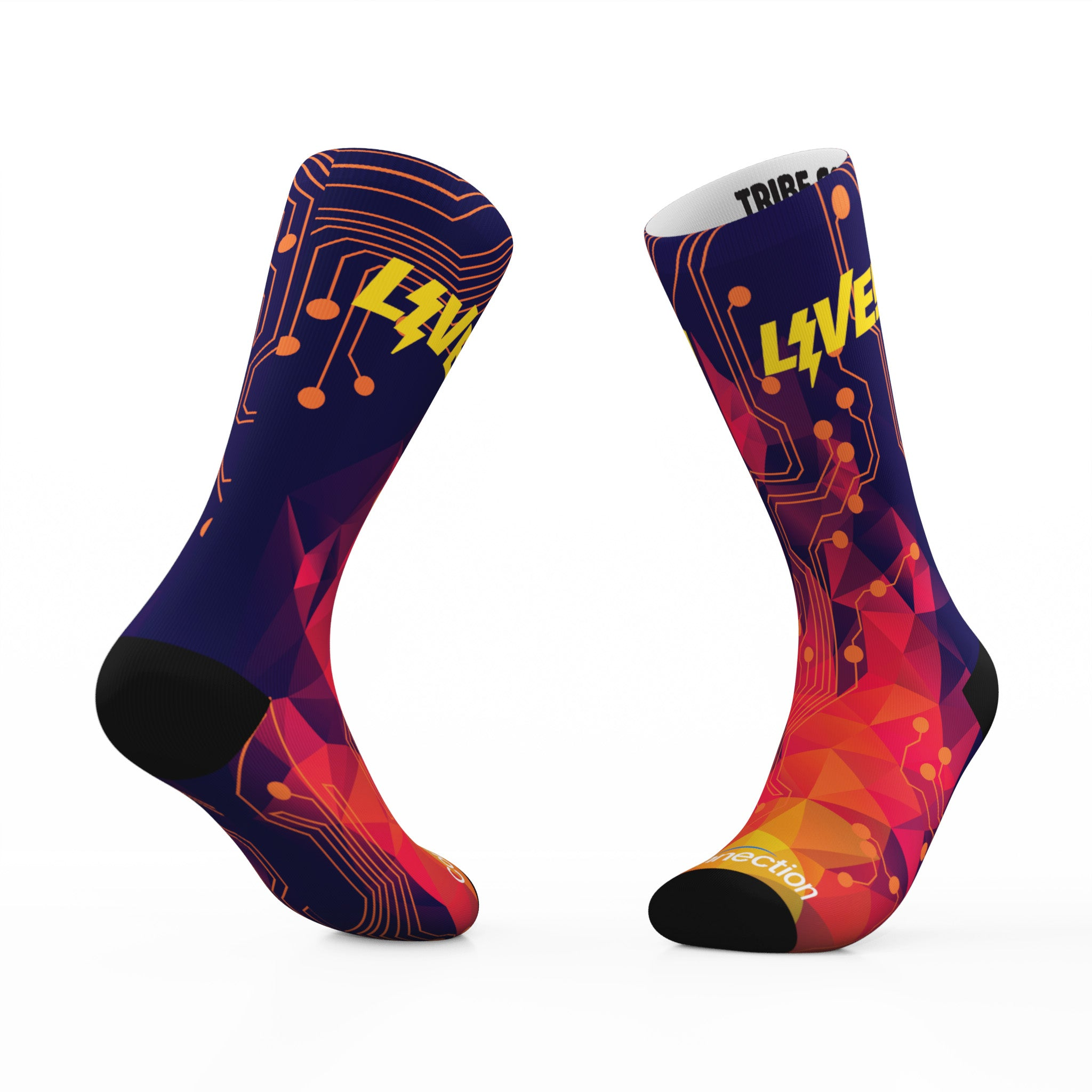 Connection.com x Tribe Socks
