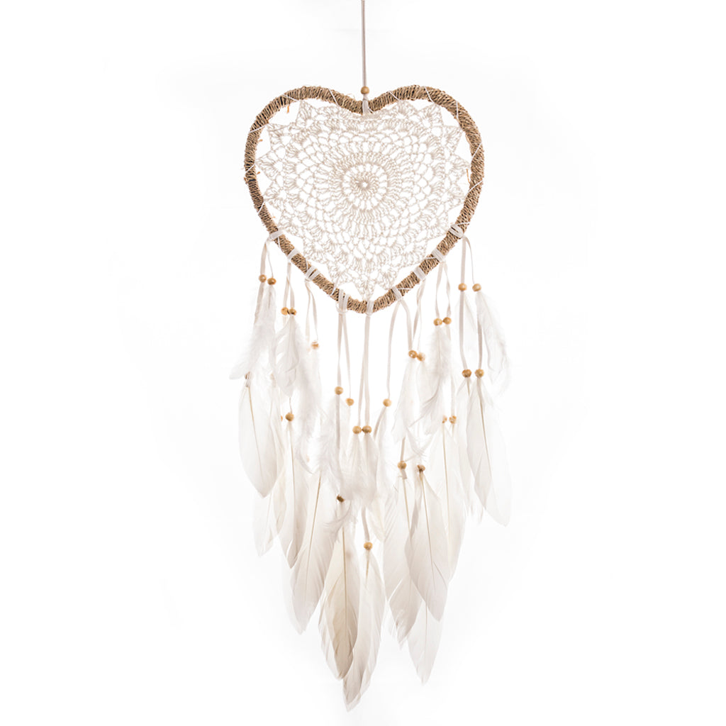 "Dream Catcher ""Heart"" Seagrass 22cm"