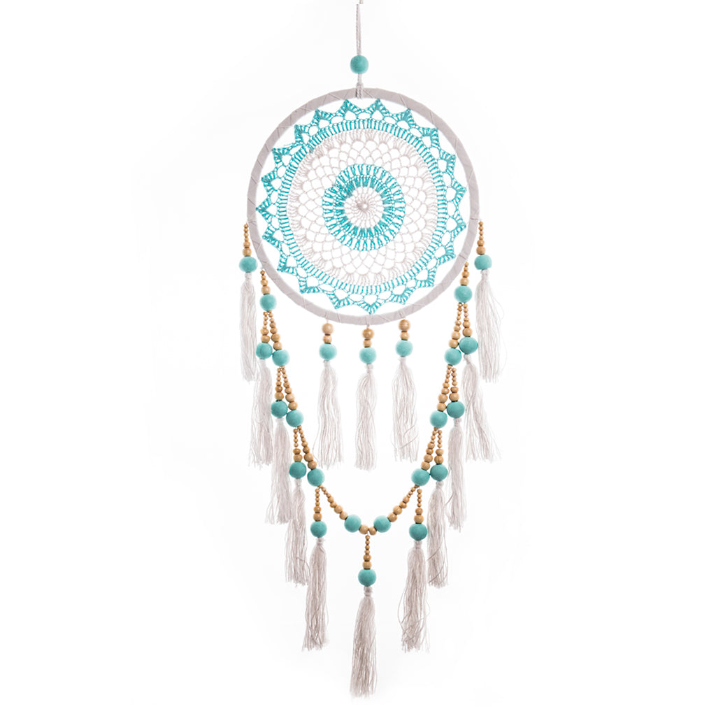 Dream Catcher Tassels & Beads in Turquoise