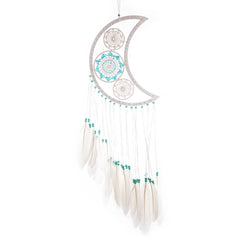 "Dream Catcher ""Half Turquoise Moon"""