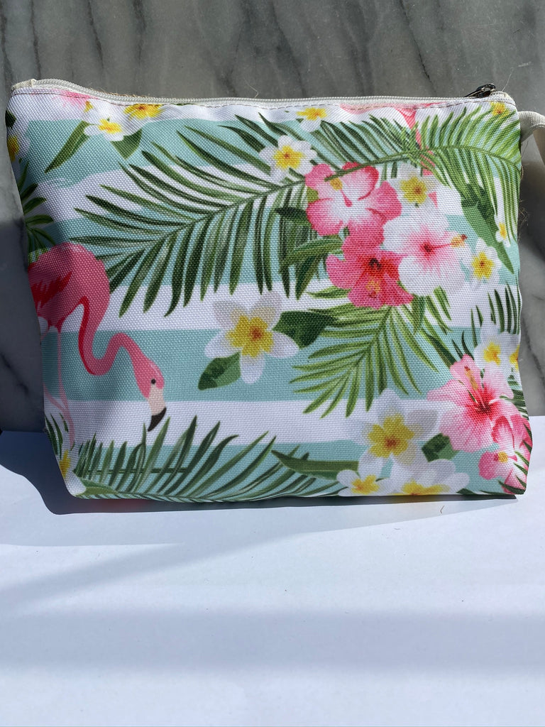 "Summer Clutch ""Flamingo"""