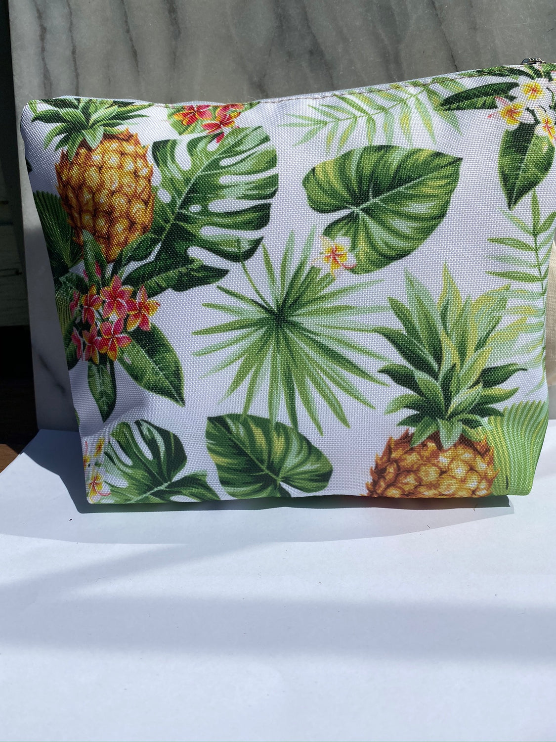 "Summer Clutch ""Tropical Pineapple"""