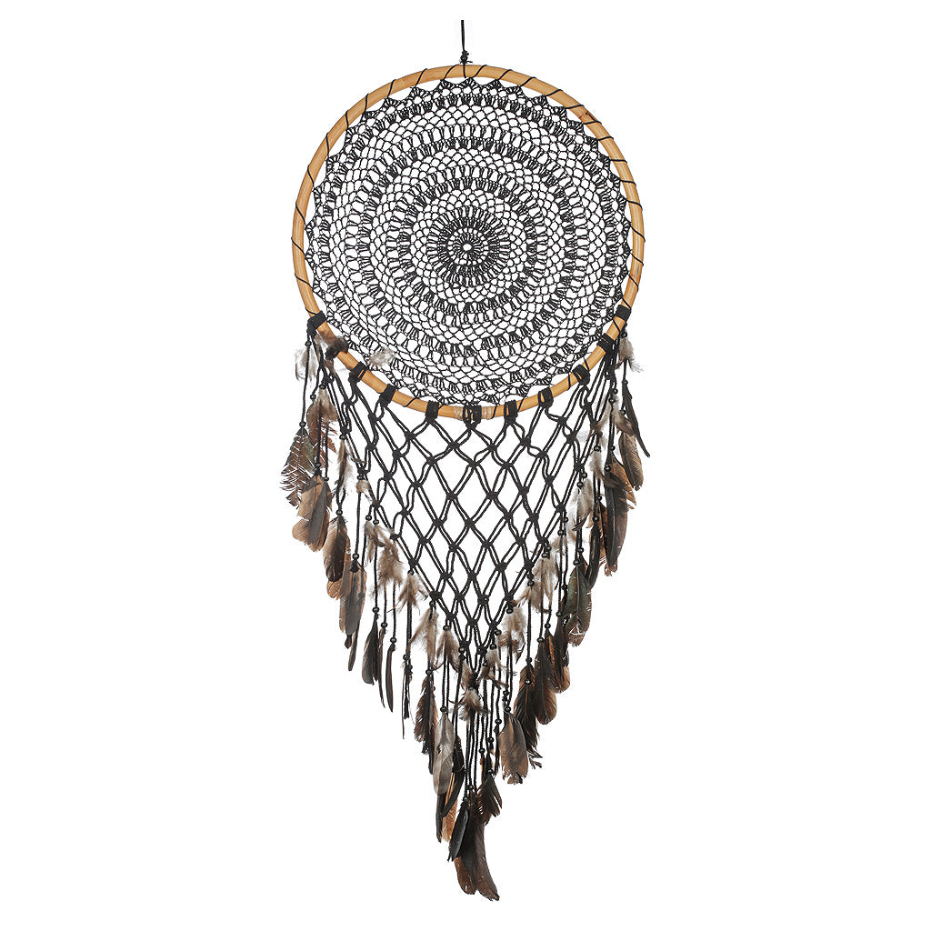 Dream Catcher - Black - 52cm