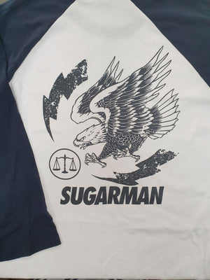 Sugarman Eagle Raglan - Back