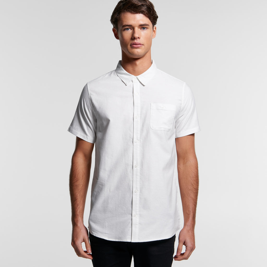 AS Colour Oxford Short Sleeve