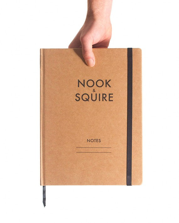 Nook and Squire Hard cover note book