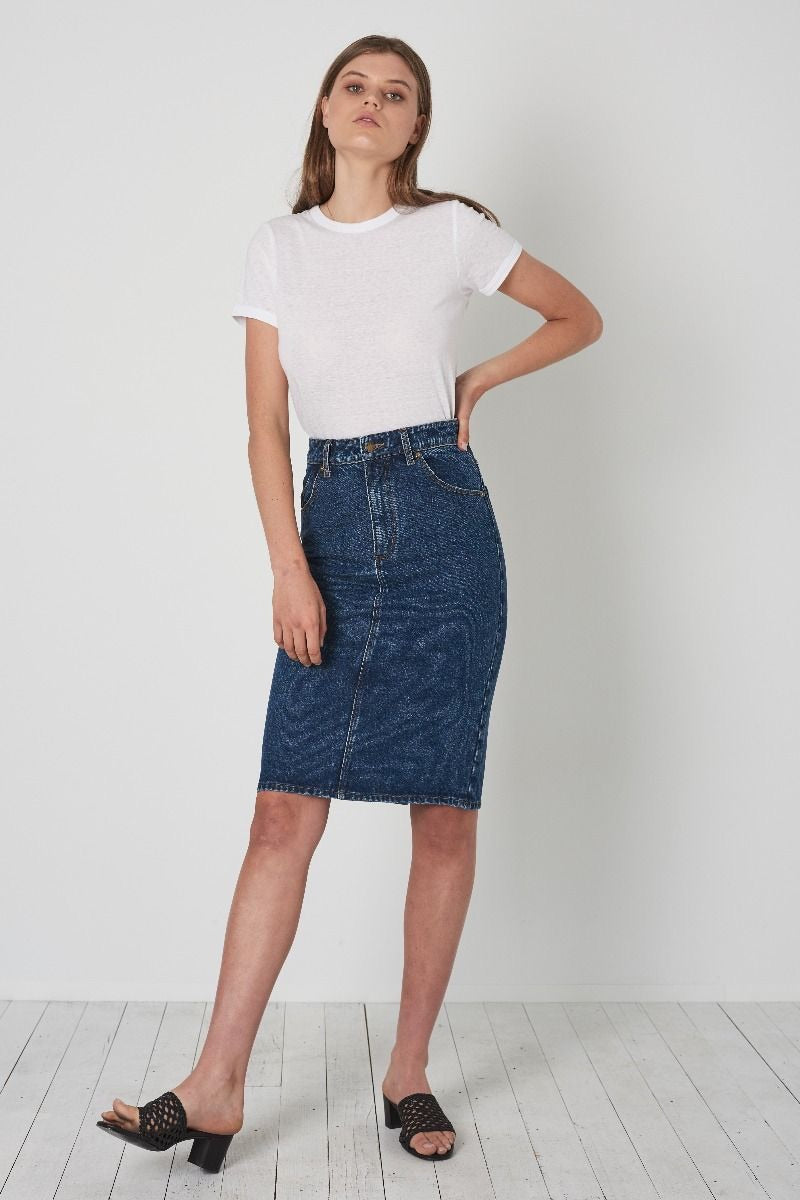 Rollas High Pencil Skirt