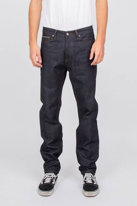 DR Denim Gus Raw Selvage Denim Jeans