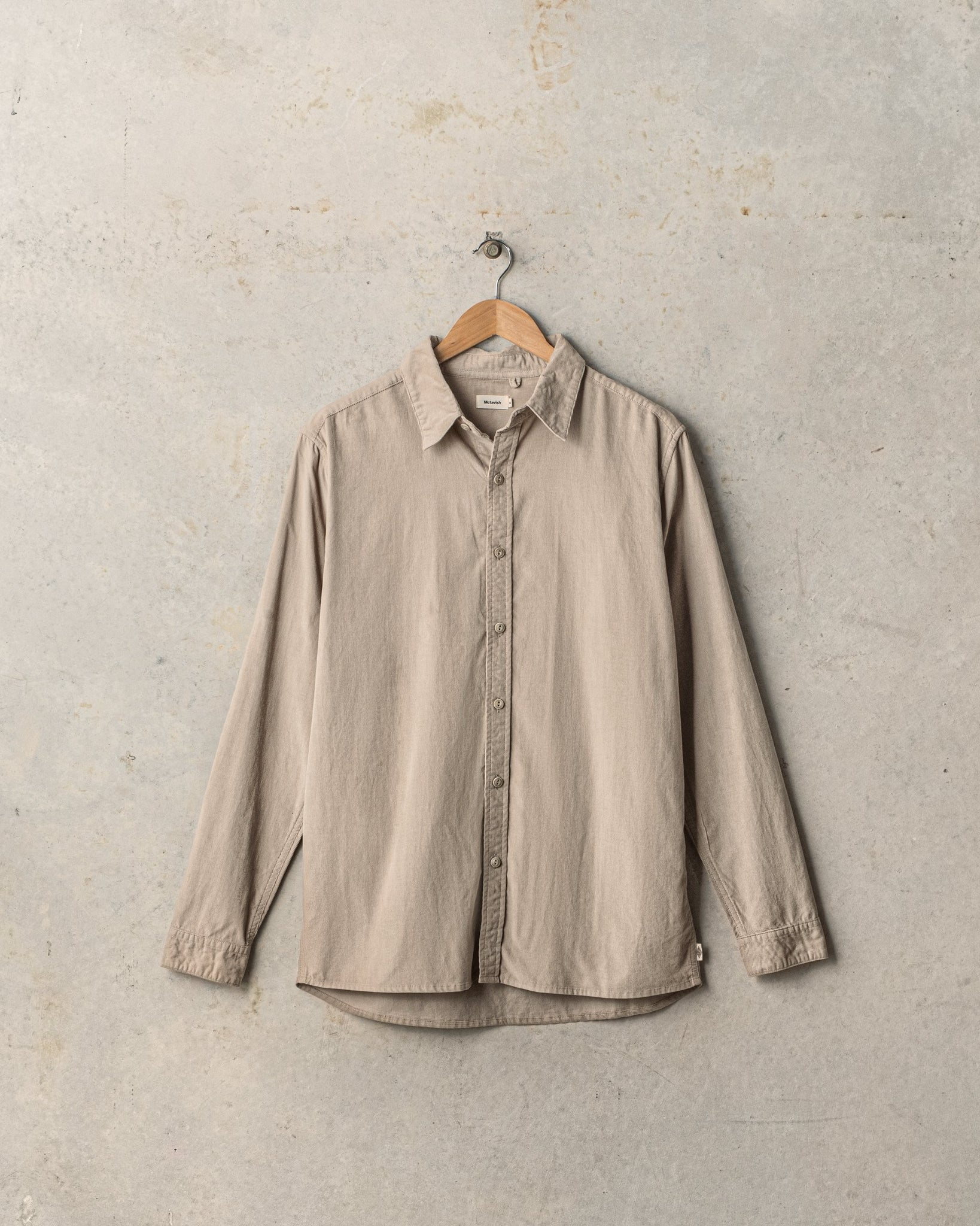 Washed Cord Shirt