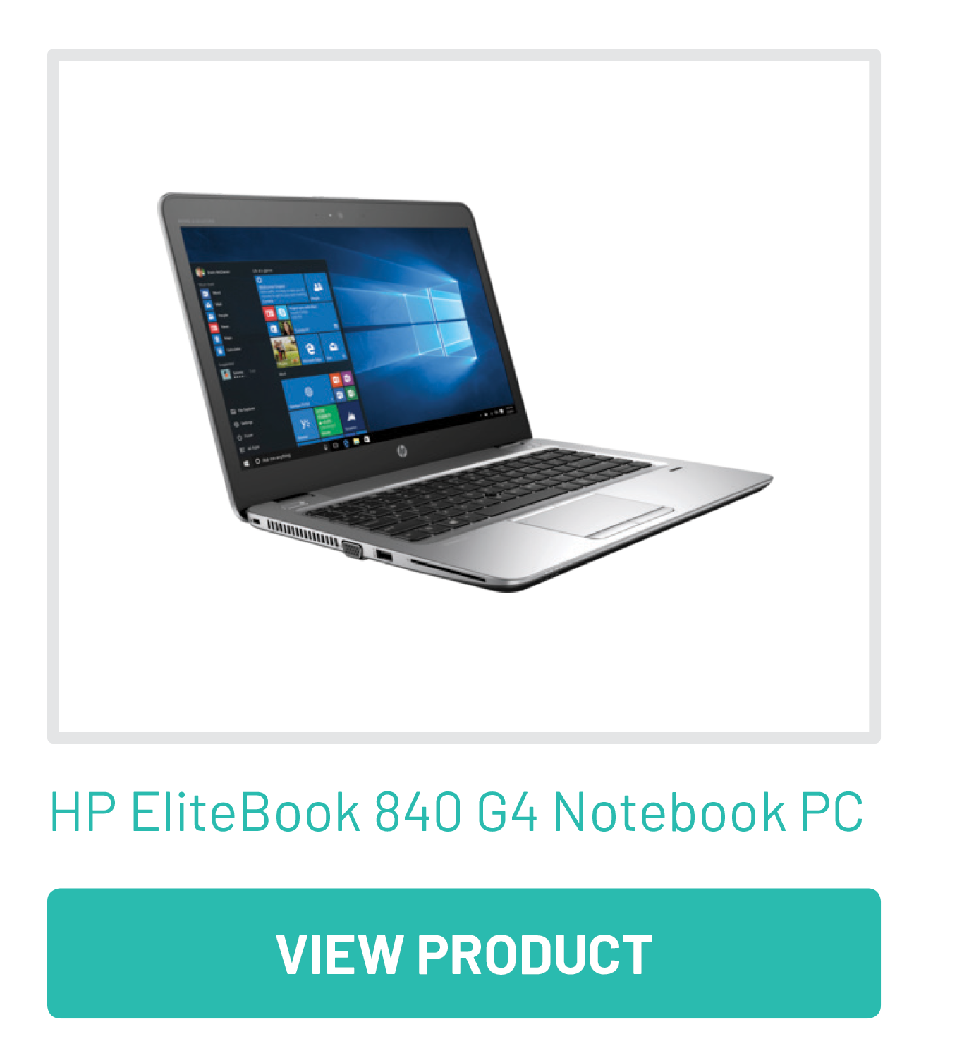 HP Elitebook 840 G4 Notebook PC